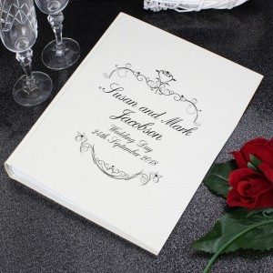 Personalised Ornate Swirl Album with Sleeves
