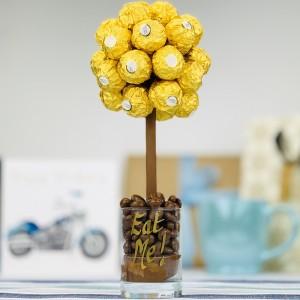 Personalised Ferrero Rocher Tree - 25cm