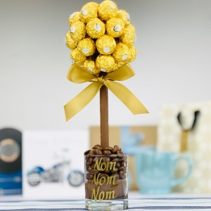 Personalised Ferrero Rocher Tree - 35cm