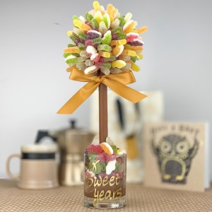 Personalised Fizzy Haribo Tree - 35cm