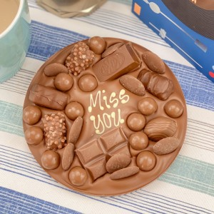Personalised Letterbox Chocolate Hug