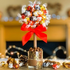 Personalised Mixed Lindt Tree - 35cm
