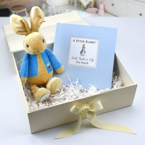 Personalised Peter Rabbit Book & Plush Toy Gift Set