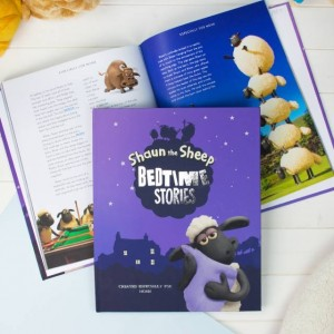 Personalised Shaun the Sheep Bedtime Story Collection - Deluxe