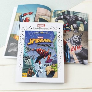 Marvel Little Favourites Spider-Man Beginnings Personalised Story Book