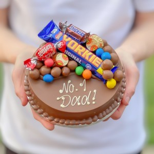 Personalised Mini Father's Day Smash Cake