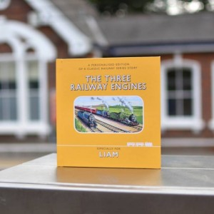 Personalised The Three Railway Engines Book