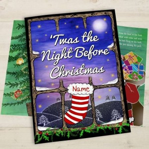Twas the Night Before Christmas Personalised Book - Softback