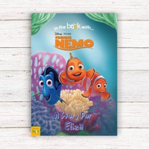 Personalised Disney Finding Nimo Story Book - Softback