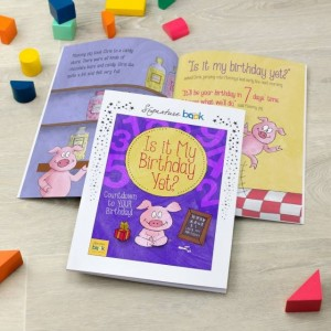 Personalised Is It My Birthday Yet Story Book