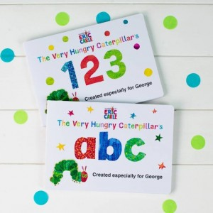 Personalised Very Hungry Catepillar Board Books