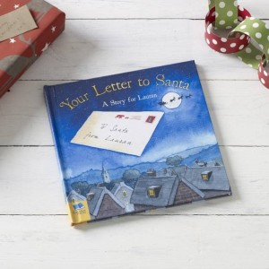 Your Letter to Santa Personalised Book - Hardback