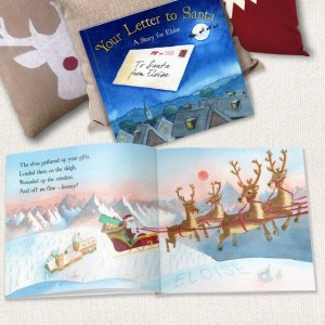 Your Letter to Santa Personalised Book - Softback