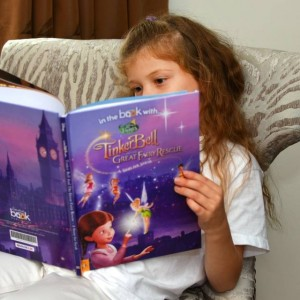 Personalised Disney Fairies Story Book - Hardback