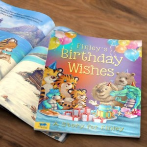 Birthday Wishes Personalised Book - Hardback