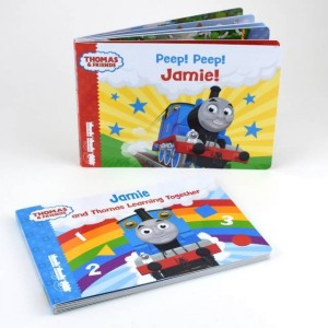Personalised Dual Box-Set Thomas & Friends Board Books