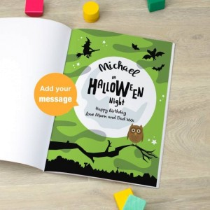 Signature Favourite Personalised Halloween Story Book