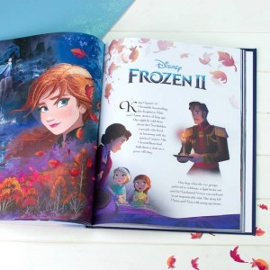 Personalised Disney Frozen Deluxe Collection Book