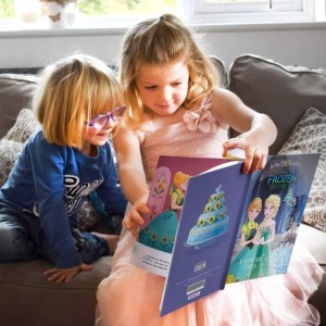 Personalised Disney Frozen Fever Story Book - Hardback