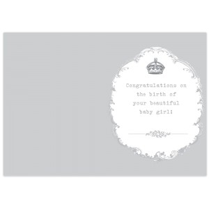 Personalised Royal Crown Card