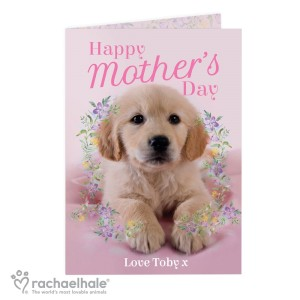 "Personalised Rachael Hale ""Happy Mother's Day"" Card"