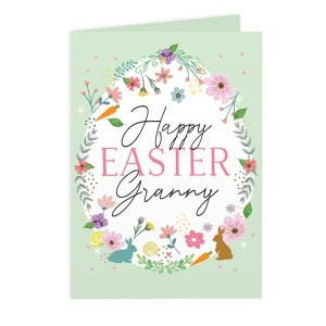 Personalised Easter Springtime Card