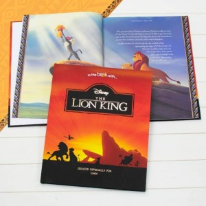 Personalised Disney Deluxe Lion King Book