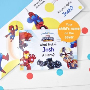Personalised What Makes Me a Hero Marvel Board Book