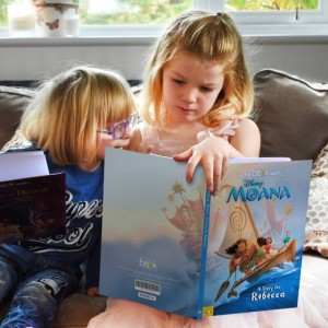 Personalised Disney Moana Story Book - Hardback