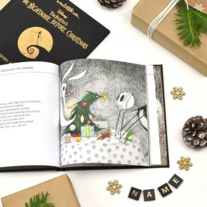 Personalised Nightmare before Christmas Story Book