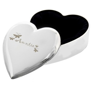 Auntie Heart Trinket Box