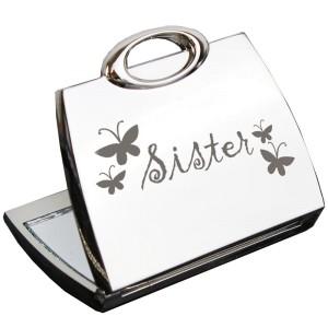 Sister Handbag Compact Mirror