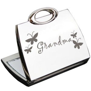 Grandma Handbag Compact Mirror