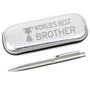 World's Best Brother Pen & Box