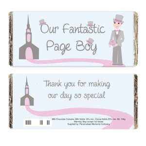 Fabulous Page Boy Milk Chocolate Bar