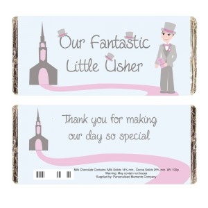 Fabulous Little Usher Milk Chocolate Bar