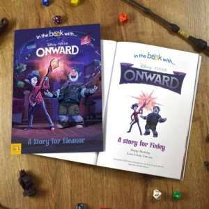 Personalised Disney Onward Storybook - Softback