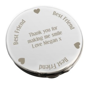 Personalised Best Friend Compact Mirror