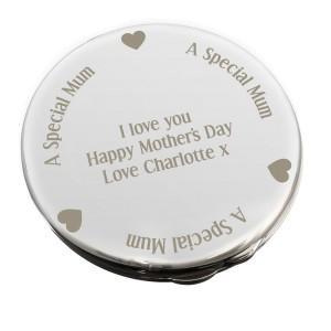 Personalised Mum Compact Mirror