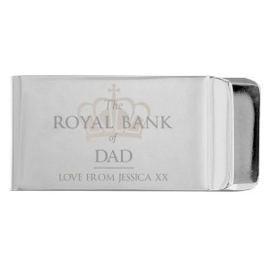 "Personalised ""Royal Bank of..."" Money Clip"