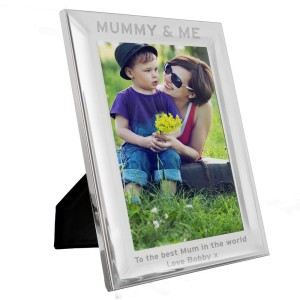 Personalised & Me 5x7 Silver Photo Frame
