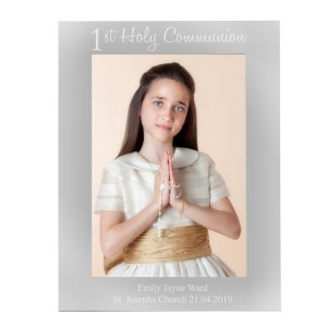 Personalised First Holy Communion 7x5 Photo Frame
