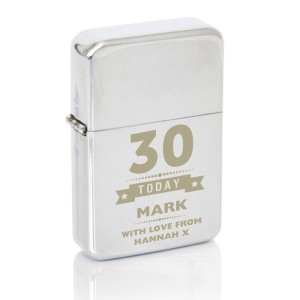 Personalised Birthday Star Lighter