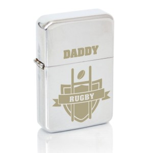 Personalised Rugby Lighter