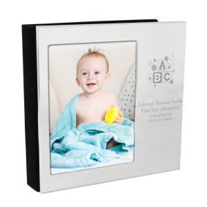 Personalised ABC 6x4 Photo Frame Album