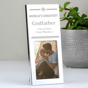 Personalised Luxury Small Silver 2x3 Photo Frame