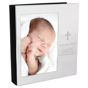 Personalised Cross 4x6 Photo Frame Album
