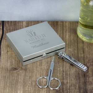 Personalised Nailed It Manicure Set