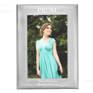 Personalised Prom Night 6x4 Silver Photo Frame
