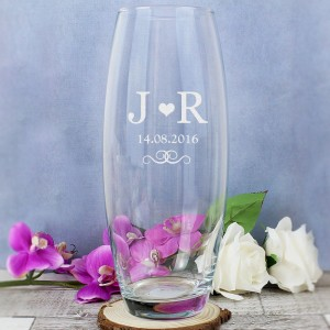 Personalised Monogram Bullet Vase